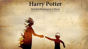 Harry Potter and the Philosopher's Stone Wallpaper by sharoku