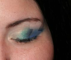 Makeup close up by battybaby