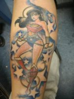 Wonder Woman Tattoo by ShannonRitchie