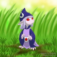 Vaati In The Grass by Goldy--Gry