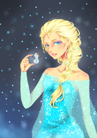 Elsa - Frozen by kcy4R7