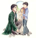 Deathly Hallows - Epilogue Art by Eliathanis