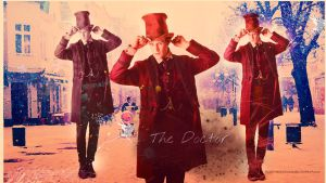 The eleventh doctor wallpaper 4 by HappinessIsMusic