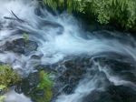 Rushing Water by Cylessio