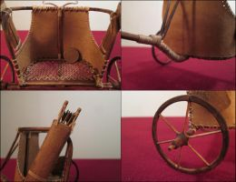 Egyptian Chariot (Details) by AtriellMe