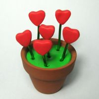 Flower Pot Of Love by Devilish--Designs