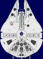 YT-1300-C Freighter - Stock by captshade