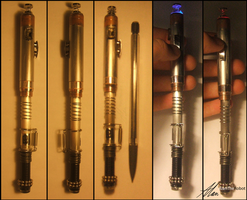 Custom Sonic Screwdriver by AlanTheRobot