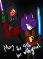 May the 4th be with you~! by Doggshort2