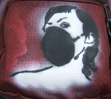 bag stencil by hexphreak