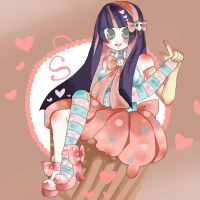 stockings dipped in sweets by Uchuu-Chan