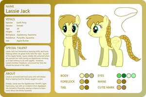 OC Sheet-Lassie Jack by outlaw4rc
