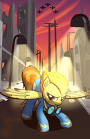 Spitfire poster finished by drawponies