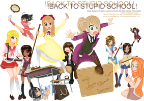 Back to stupid school by koolkatashley10