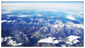 over the Alps by 88pixels