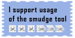 Support Smudge Tool Stamp by surlana