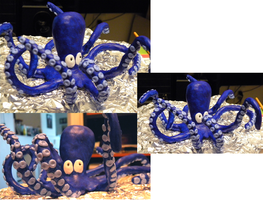 Octopus Sculpture by TheDisappearingGirl