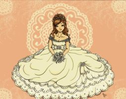 Contest_Zoe as a Bride by shafry