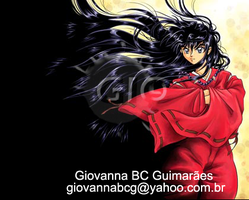 Black Haired Inuyasha by giovannag