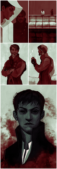 Warm ups 08 - Dishonored by coupleofkooks