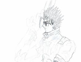 vash for noc to color by zefoxe