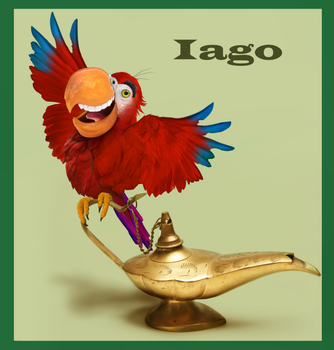 Iago: IN REAL LIFE by Nestly