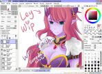 Grand Chase - Fail WiP by RaineScarlet