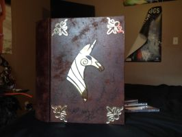 the book of harmony- signed by rainboomdragon