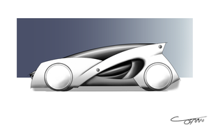 Concept Car + Video by ComplxDesign