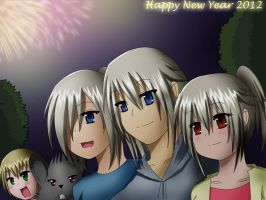 HAPPY NEW YEAR 2012 by XenonCytomander
