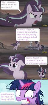 A comment on no comments by Brony4Lyfe1