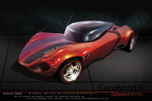Coloured Vision Hot Rod by candyrod
