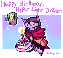 Hyper Light anniversary by NightMargin