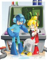 Mega Man Tribute Entry by Crumbelievable