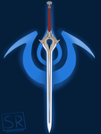 Fire Emblem Chrom's Falchion shirt design by SarahRichford