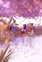 Wonderground Gallery :Mulan Print by PascalCampion