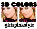 action 3D colors by GirlsPinkStyle