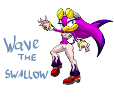 Wave the Swallow by MUGENHunter
