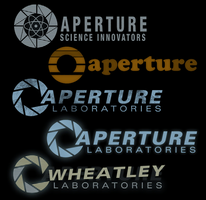 Aperture logo load screens by Berqist