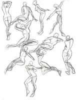 A Year of Gesture Drawing: 039/365 by TommyOliverDraws