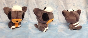 Houndour Palm Plush by Glacdeas
