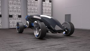 Futuristic Car by curux