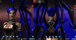 Devil Rayvyn, Alt Outfit 4 by AriaMournesong