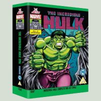 Hulk DVD Boxset by Simon-Williams-Art