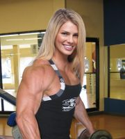 Female Bodybuilder Photoshop 12 by edinaus