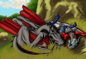 Being Lazy by CrazyCanary