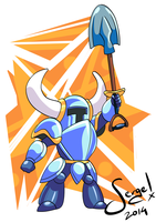 20140717 - Shovel Knight by nekoiichi