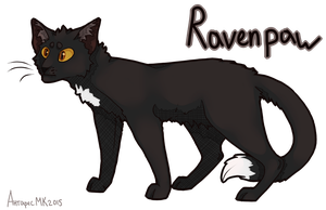 Ravenpaw by AntharesMK
