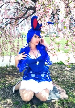 Underneath the Weeping Cherry by HeatherAfterCosplay