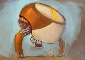 Cakebot by Dariyen